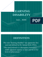 Learning Disability Power Ponit