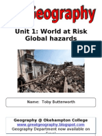 Global Hazards Ed Excel as Revision