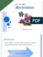 Condições Favoráveis ao Desenvolvimento dos Micróbios