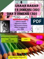 EDU3105 Penggunaan Bahan2 2D Dan 3D