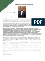 Profil de Guiteau Toussaint  (1955- 2011)