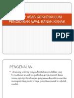 Konsep Asas Kokurikulum Pendidikan Awal Kanak-Kanak (QSC1011)