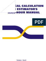 Technical Calculation and Estimator's Man-hour Manual