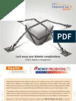 ICICI DiabetCareActive Brochure 6th July 2009