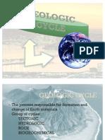 Geologic Cycle