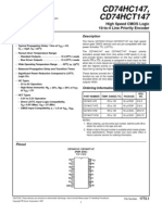 Datasheet Codificador