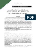 Kelemahan Dasar Pendidikan Malaysia
