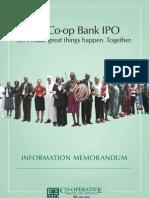 Co-op Bank Ipo Prospectus