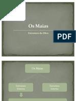 Os Maias-Estrutura