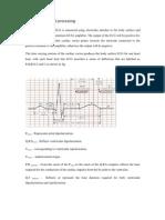 Cardiological Signal Processing