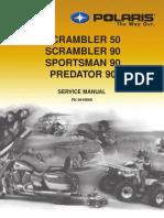 2005 polaris sportsman 400 500 service manual nopw carburetor rh scribd com 2005 Polaris 90 Quad 2005 Polaris Predator 50 Parts Schematic