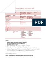 Sistem Skoring Diagnosis Tuberkulosis Anak