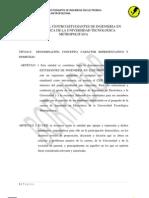 Estatuto Del Centro Estudiantes de Ingenieria en Electronic A de La Universidad Tecnologica Metropolitan A v1.02