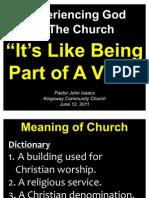 06-12-2011 the Church is Like a Vine