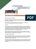 Del 1º de Mayo a la Patagonia trágica