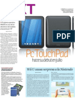 EDH-Next-WebOs PC Touch Pad HP-130611