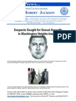 Suspects Sought for Sexual Assaults in Inwood