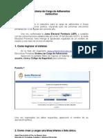 Instructivo Del Sistema de Adherentes PBA