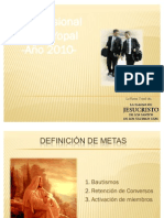 Plan Misional 2010