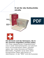 Rothschilds totale Kontrolle