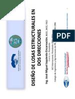 02.-DISEÑO DE LOSAS ESTRUCTURALES EN DOS DIRECCIONES._Ing. Jose_Izquierdo.