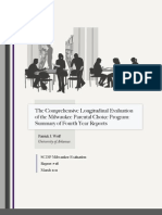 Comprehensive Longitudinal Evaluation of the Milwaukee Parental Choice Program