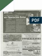 Triunfan Salinas y Villalba en Operación Éxito -La Perla del Sur
