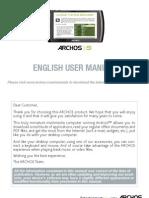 English - User Manual - ARCHOS 5it - V2