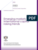 Emerging Markets International Capital Raising Trends