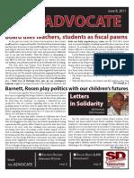 SDEA Advocate June 2011