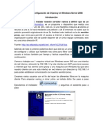 Tutorial de Instalacion y Configuracion de Ccproxy en Windows Server 2k8