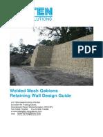 Gabion Retaining Wall Design Guide