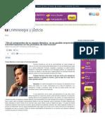 Entrevista a Francisco Estrada por Tomás Montero, Criminología y Justicia