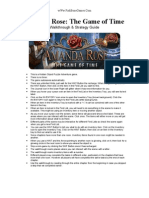 Amanda Rose - The Game of Time - Walk Through & Strategy Guide - wWw.fishBoneGames