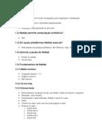 Breve Tutorial Matlab