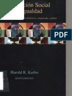 Harold Kerbo - Estratificacion Social y Desigualdad