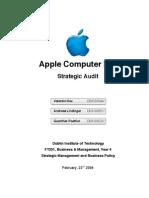 Apple Strategic Audit