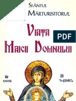 Sf Maxim Marturisitorul - Viata Maicii Domnului