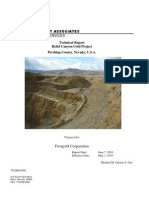 Technical Report Relief Canyon Gold Project