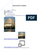 Tribunal Constitucional de España wikipedia