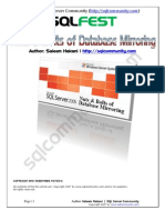 Nuts and Bolts of Database Mirroring