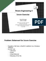 011 Scrum Exercise