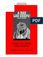¡Abajo los jefes! - J. Déjacque (1859)