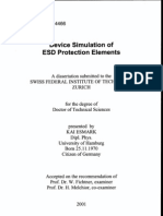 Device Simulation of Esd Protect Elements