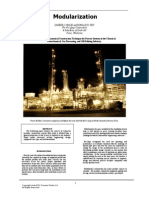 Modularization Chemical Plant