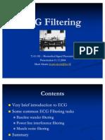 ECG Filtering Aksela