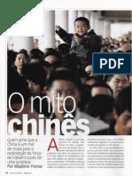 O mito chinês. Dois anos atrás, chineses tornaram-se principais parceiros comerciais do Brasil