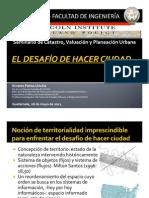 El DESAFÍO DE HACER CIUDAD_Ernesto Palma