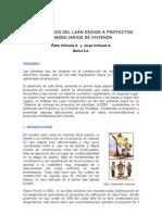 Lean Design en Proyectos Inmobiliarios Sp