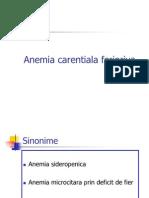 Anemia ala Feripriva 2011